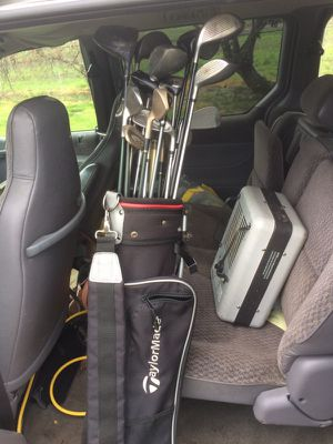 Golf clubs with bag for Sale in Portland, OR