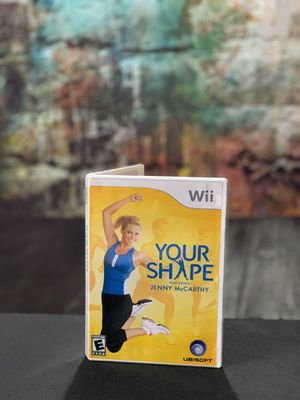 Wii your shape featuring Jenny McCarthy for Sale in Bakersfield, CA