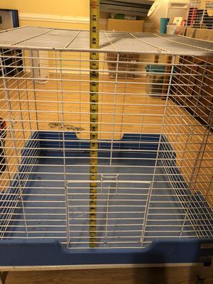 Large square cage for ferret, adult rats, or chinchilla. for Sale in Louisville, KY