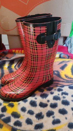 Weather/Rain Boots (WOMEN'S SIZE 10) $10 for Sale in Aberdeen, WA