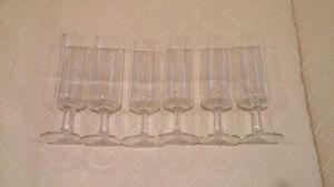 6 cocktail glasses for Sale in Alexandria, VA