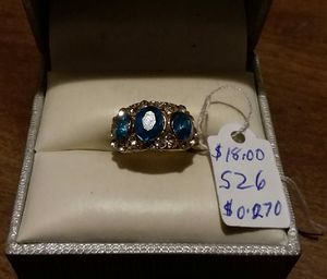 Brand New Fashion Blue CZ Celtic Ring. for Sale in Pawtucket, RI