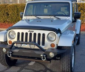 Automatic Truck 2008 Jeep Wrangler 4WDWheelss Very clean for Sale in Fort Worth, TX