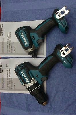 "Makita XPH12 18V Brushless 1/2"" Hammer Drill + XDT13 Impact Driver. (tools only) for Sale in San Jose, CA"