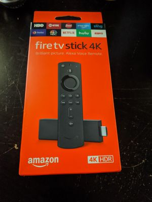 Best price - New Fire TV Stick 4K w/ Newest Version Remote for Sale in Pompano Beach, FL