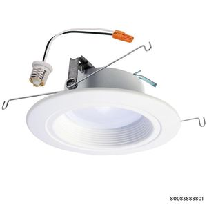 Halo RL 5 in. and 6 in. 3500K Bright White Integrated LED Recessed Ceiling Light Trim, Title 20 Compliant for Sale in Dallas, TX