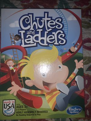 Chutes and Ladders Game Ages 3+ for Sale in Portland, OR