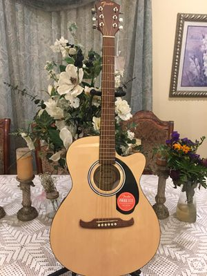 Fender FA135CE electric acoustic guitar for Sale in Bell, CA