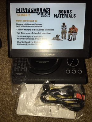 """10"""" Magnavox MPD105 portable DVD player comes with remote n car charger asking $70 for Sale in Kent, WA"""