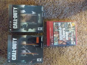 Ps3 games (2 call of duty collection and gta 5) BRAND NEW! for Sale in Glen Burnie, MD