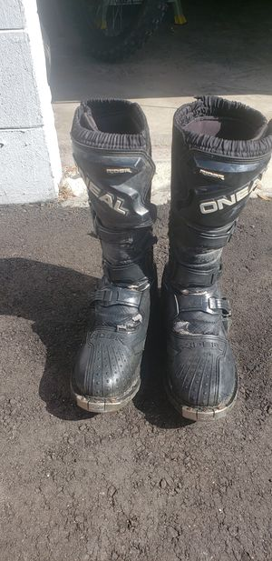 O Neill dirt bike boots used for Sale in Gibsonton, FL