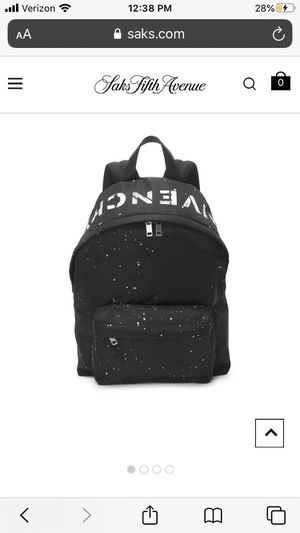 GIVENCHY urban logo men's backpack for Sale in Los Angeles, CA