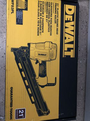 Dewalt framing nailer 21 brand new in box for Sale in Tacoma, WA