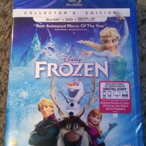 Digital Movie Code for Disney's Frozen in HD for Sale in Baytown, TX