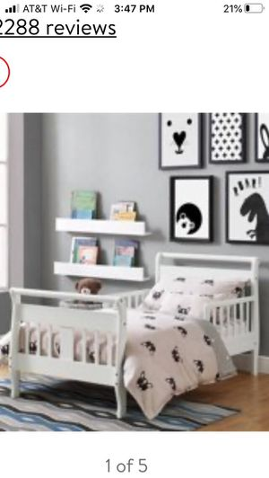 White Toddler Bed Frame - still in box - no mattress for Sale in Chandler, AZ