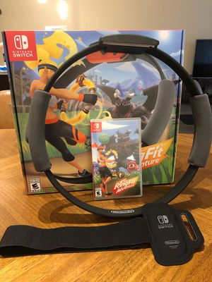 Ring fit adventure SWITCH GAME for Sale in Watertown, MA