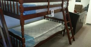 Brand new bunk bed with two mattresses for Sale in Silver Spring, MD