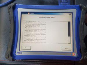 Nexiq pro link iq tablet for Sale in Amarillo, TX