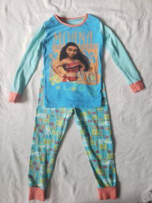 Disney Girls' Moana Pajamas .size 7 for Sale in Federal Way, WA