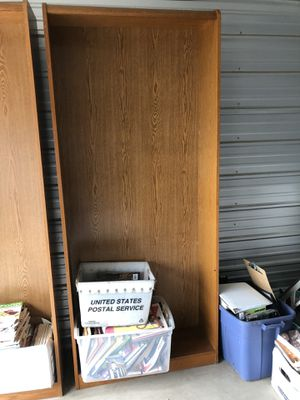 2 Big shelves $20 together $15 separate for Sale in Magnolia, IL