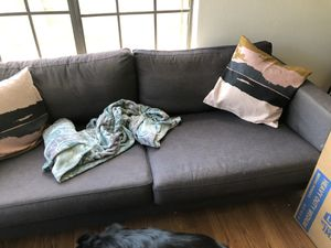 Grey couch for Sale in Manteca, CA