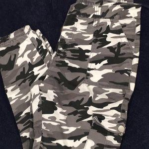 Camo Joggers-Size L-XL (12-15) for Sale in Santa Barbara, CA