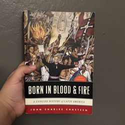 Born In Blood And Fire for Sale in San Jose,  CA