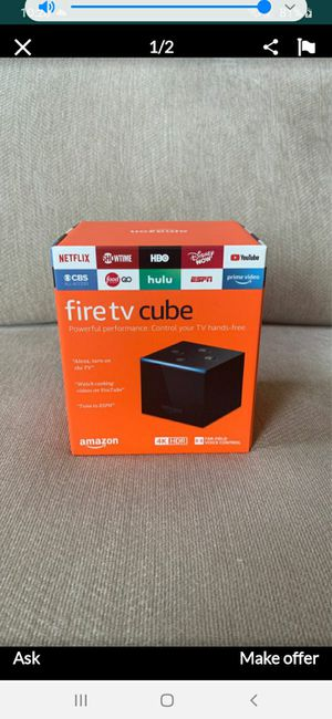Fire TV cube 4K with Alexa Remote for Sale in Palm Beach, FL