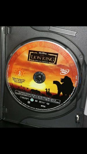 Disney's The Lion King DVD Movie for Sale in New York, NY