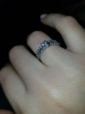 Macys 2 piece bridal set 14k each white gold for Sale in Fort Worth, TX