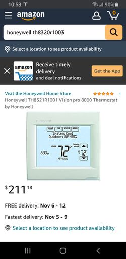 Honeywell thermostat for Sale in Seattle,  WA