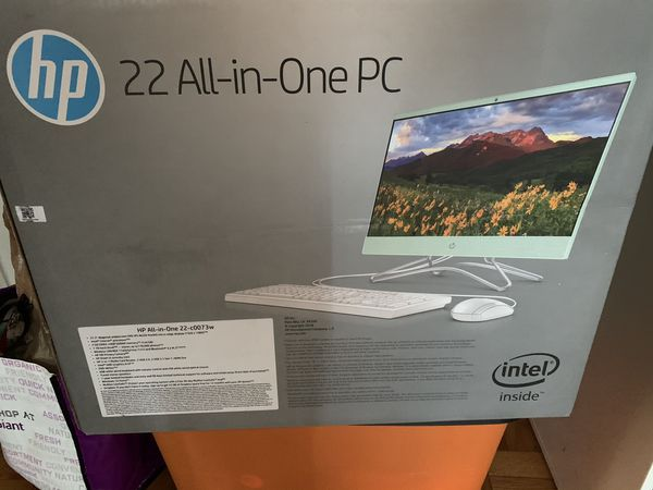 Brand new box is sealed all in one computer-price is FIRM