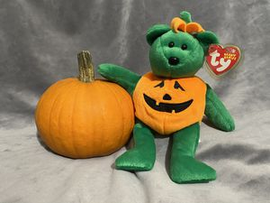 Beanie Baby, Halloween themed Tricky the Bear for Sale in Portland, OR