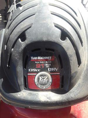 Yard Machine lawnmower for Sale in Phoenix, AZ
