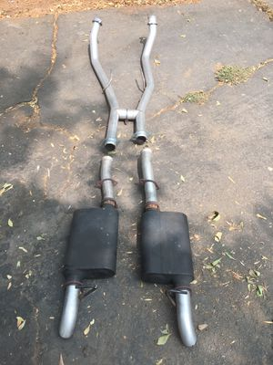 79-93 Mustang Foxbody Off-road H-pipe and Flowmaster American Thunder Catback dumped for Sale in El Cajon, CA
