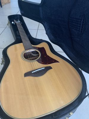 Like new Yamaha A1R electro acoustic guitar for Sale in Hollywood, FL