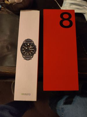Oneplus 8 5G & galaxy watch 3 45mm- brand new !!! for Sale in Villa Rica, GA