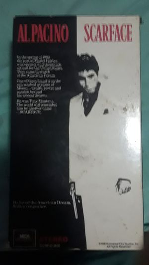 Scarface VHS $5.00 for Sale in Hialeah, FL