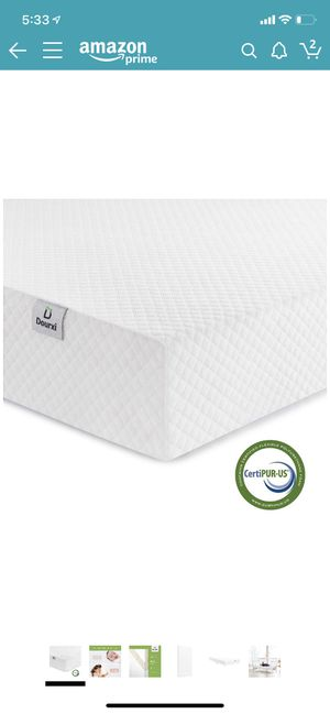 Dourxi Crib Mattress and Toddler Bed Mattress, Dual Sided Sleep System, Firm Side for Infants and Plush Soft Side for Toddlers, Breathable Foam Baby for Sale for sale  Staten Island, NY