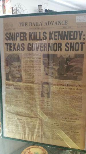 Original newspaper November 22 1963 for Sale in Appomattox, VA