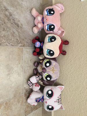 Littlest pet shop plush stuffed animals PLEASE READ DESCRIPTION for Sale in Henderson, NV