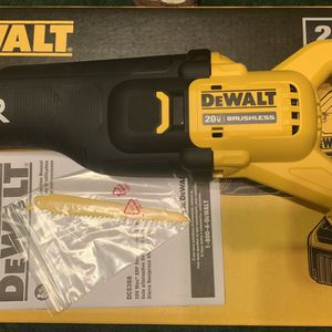 New DeWalt Max XR 20V DCS368 Brushless Reciprocating saw for Sale in Visalia, CA