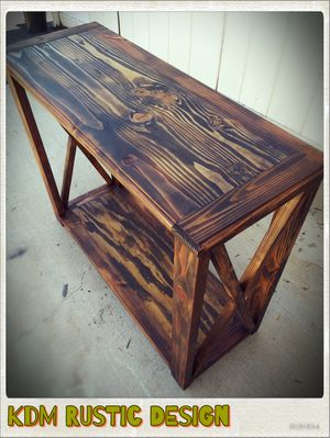 CUSTOM Handcrafted Farmhouse Tables   COFFEE TABLE   CONSOLE TABLE   DINING TABLE for Sale in El Cajon, CA