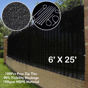 Privacy mesh for fence 6x25 for Sale in Norco, CA