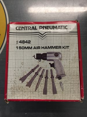 Central pneumatic #4842 150mm air hammer kit for Sale in Winter Park, FL