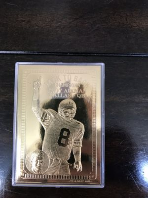 Troy Aikman Bleachers 1994 gold card for Sale in Brick, NJ