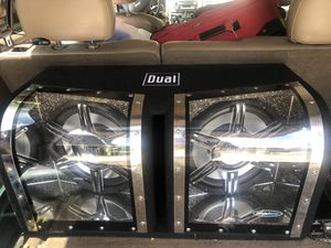 Subwoofer and amp for Sale in Columbia, MO