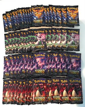Hidden Fates Sealed Booster Packs TCG Pokemon - Shiny Charizard ? for Sale in Largo, FL