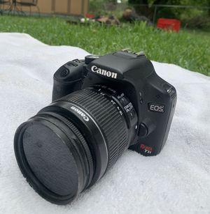 Canon Rebel T1i DSLR camera for Sale in McKinney, TX