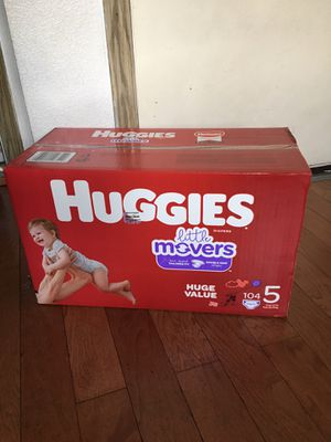 HUGGIES SIZE 5 104 pañales for Sale in Long Beach, CA